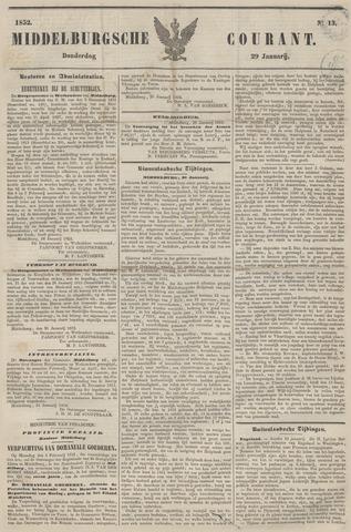 Middelburgsche Courant 1852-01-29