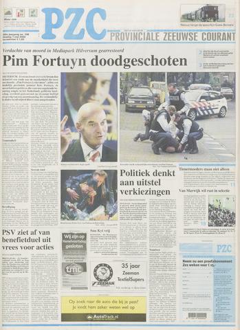 Provinciale Zeeuwse Courant 2002-05-07