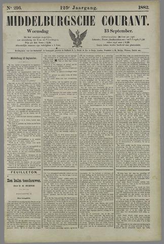 Middelburgsche Courant 1882-09-13