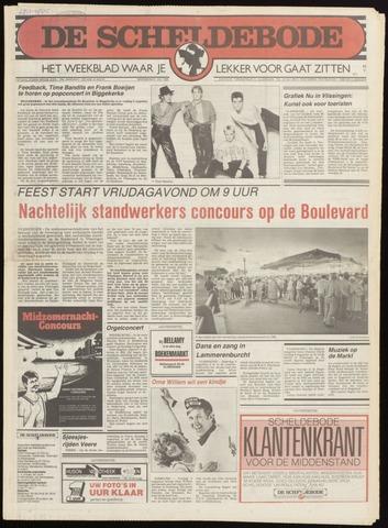Scheldebode 1985-07-25