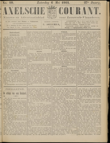 Axelsche Courant 1911-05-06