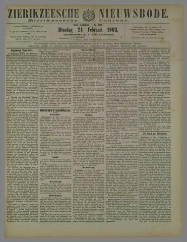 Zierikzeesche Nieuwsbode 1903-02-24