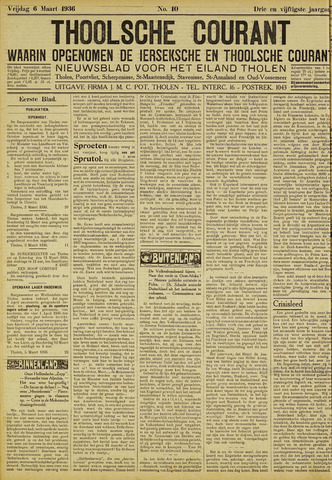 Ierseksche en Thoolsche Courant 1936-03-06