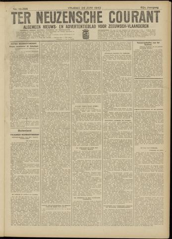 Ter Neuzensche Courant. Algemeen Nieuws- en Advertentieblad voor Zeeuwsch-Vlaanderen / Neuzensche Courant ... (idem) / (Algemeen) nieuws en advertentieblad voor Zeeuwsch-Vlaanderen 1942-06-26
