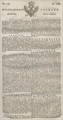 Middelburgsche Courant 1768-10-20