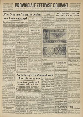 Provinciale Zeeuwse Courant 1950-05-11