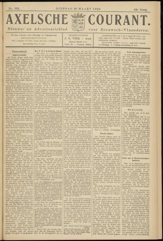Axelsche Courant 1929-03-26