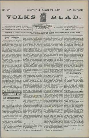 Volksblad 1922-11-04