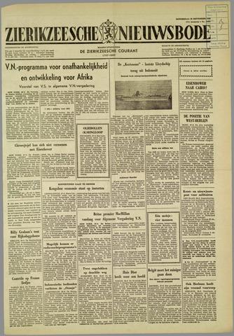 Zierikzeesche Nieuwsbode 1960-09-29