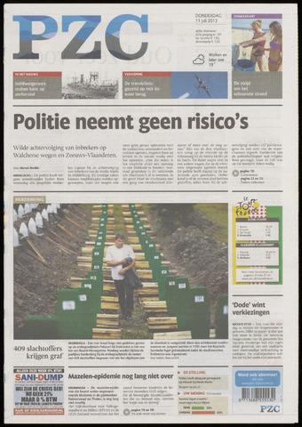 Provinciale Zeeuwse Courant 2013-07-11