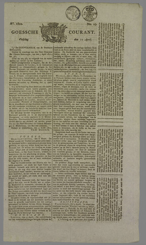 Goessche Courant 1822-04-11