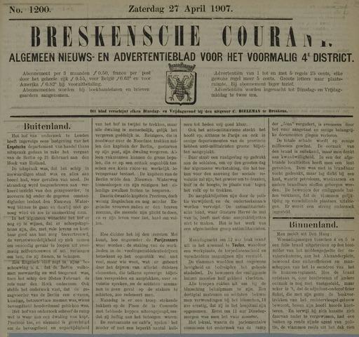 Breskensche Courant 1907-04-27