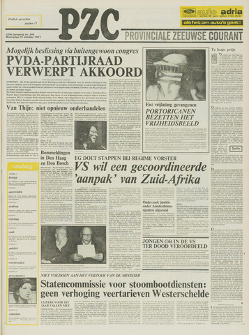 Provinciale Zeeuwse Courant 1977-10-26