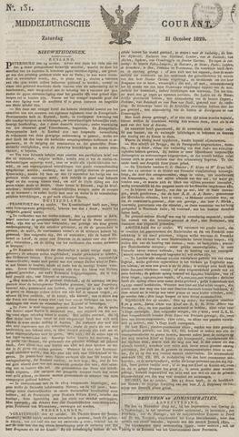 Middelburgsche Courant 1829-10-31