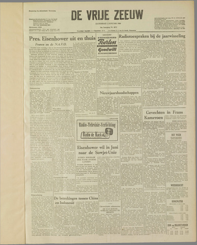de Vrije Zeeuw 1960-01-02