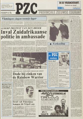 Provinciale Zeeuwse Courant 1985-07-11