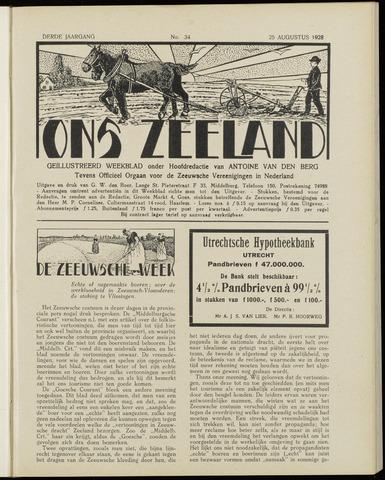 Ons Zeeland / Zeeuwsche editie 1928-08-25