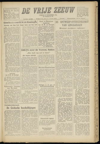 de Vrije Zeeuw 1946-12-20