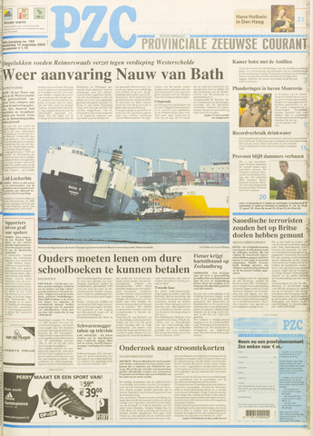 Provinciale Zeeuwse Courant 2003-08-14