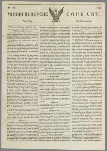 Middelburgsche Courant 1865-11-18