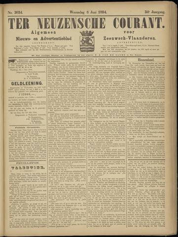 Ter Neuzensche Courant. Algemeen Nieuws- en Advertentieblad voor Zeeuwsch-Vlaanderen / Neuzensche Courant ... (idem) / (Algemeen) nieuws en advertentieblad voor Zeeuwsch-Vlaanderen 1894-06-06