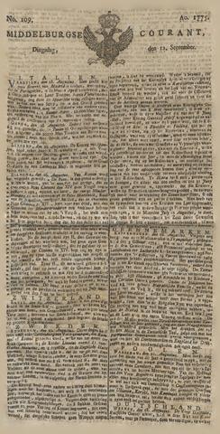 Middelburgsche Courant 1775-09-12