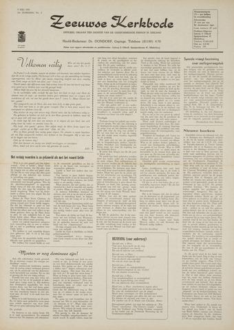 Zeeuwsche kerkbode, weekblad gewijd aan de belangen der gereformeerde kerken/ Zeeuwsch kerkblad 1970-07-09