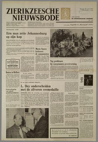 Zierikzeesche Nieuwsbode 1975-04-29