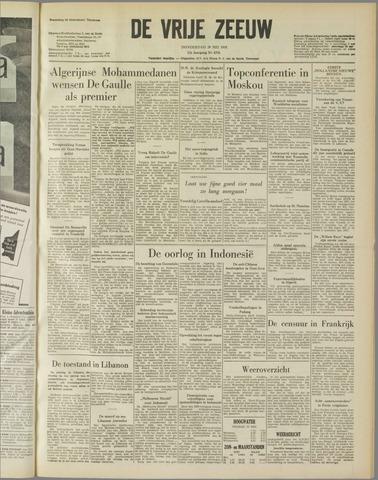 de Vrije Zeeuw 1958-05-29