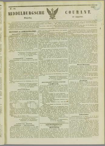 Middelburgsche Courant 1847-08-17