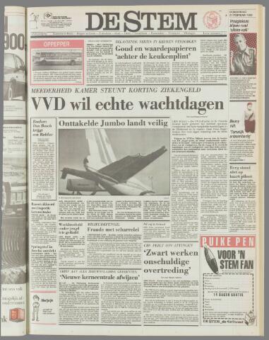 de Stem 1985-02-21