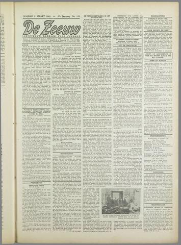 De Zeeuw. Christelijk-historisch nieuwsblad voor Zeeland 1943-03-09