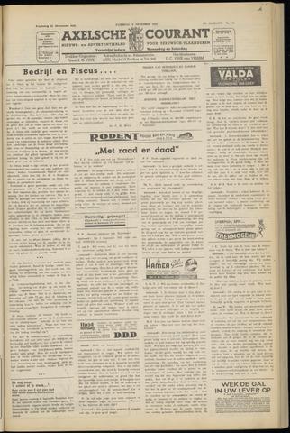 Axelsche Courant 1952-11-08