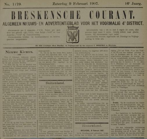Breskensche Courant 1907-02-09