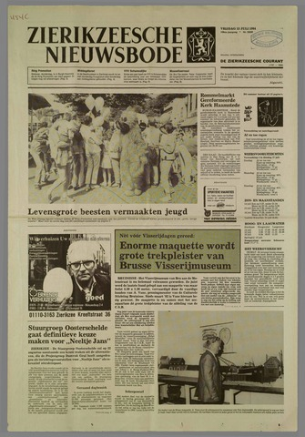 Zierikzeesche Nieuwsbode 1984-07-13