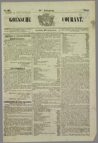 Goessche Courant 1854-08-28