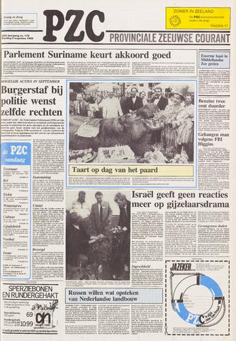 Provinciale Zeeuwse Courant 1989-08-08
