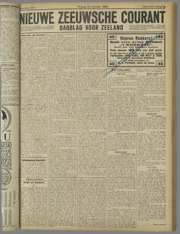 Nieuwe Zeeuwsche Courant 1920-10-23