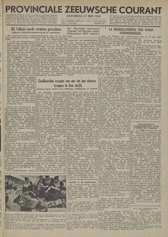 Provinciale Zeeuwse Courant 1944-05-27