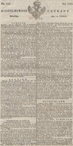 Middelburgsche Courant 1763-10-22