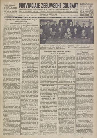 Provinciale Zeeuwse Courant 1941-09-26