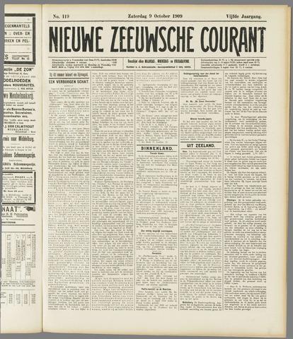 Nieuwe Zeeuwsche Courant 1909-10-09