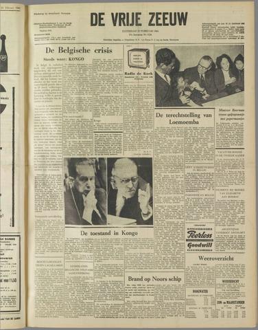 de Vrije Zeeuw 1961-02-25