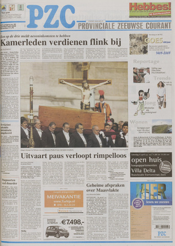 Provinciale Zeeuwse Courant 2005-04-09