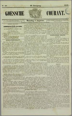 Goessche Courant 1859-08-01