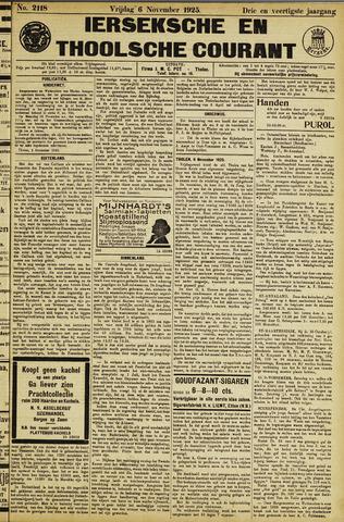 Ierseksche en Thoolsche Courant 1925-11-06