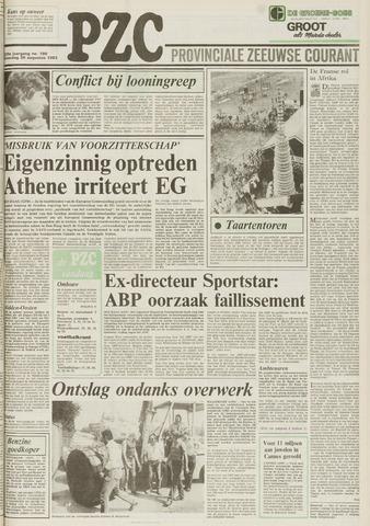Provinciale Zeeuwse Courant 1983-08-20