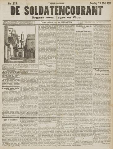 De Soldatencourant. Orgaan voor Leger en Vloot 1916-05-28