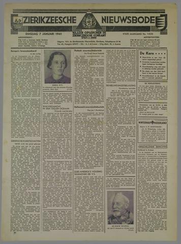 Zierikzeesche Nieuwsbode 1941-01-07