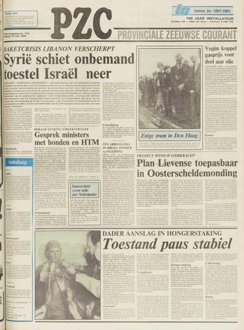 Provinciale Zeeuwse Courant 1981-05-15